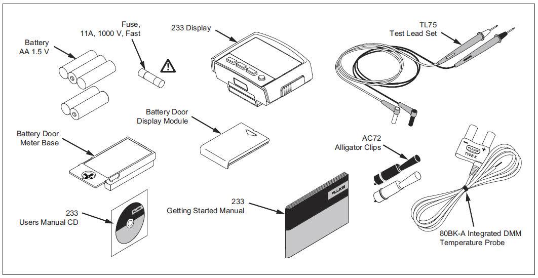 fluke 233  a 233  a remote display automotive digital
