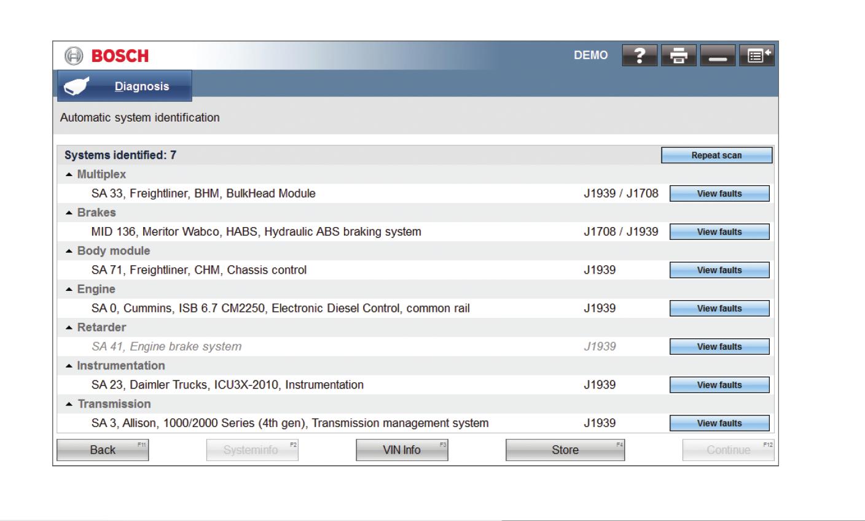 Esitruck Hd Diagnostics With Tablet 2010 Peterbilt Wiring Diagram Instrument Cummins Selection Screen