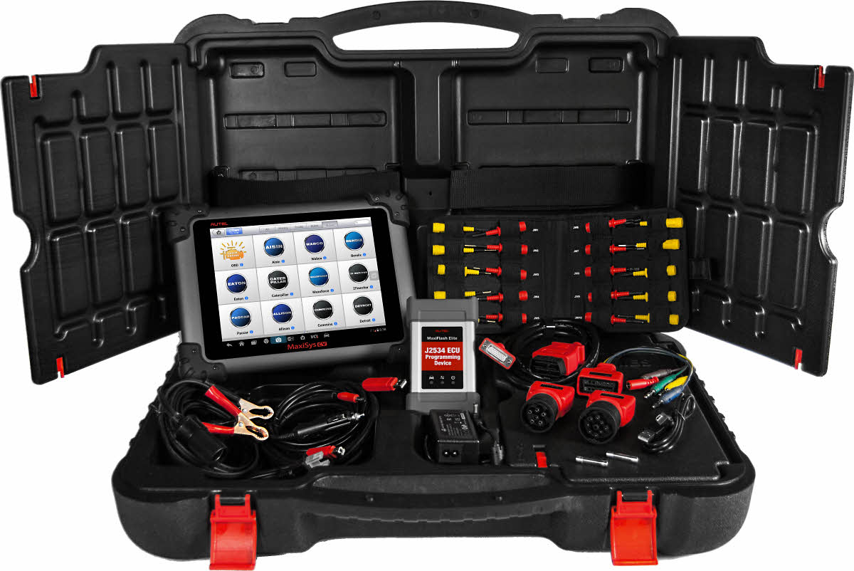 autel maxisys ms908cv commercial vehicle diagnostics tool. Black Bedroom Furniture Sets. Home Design Ideas