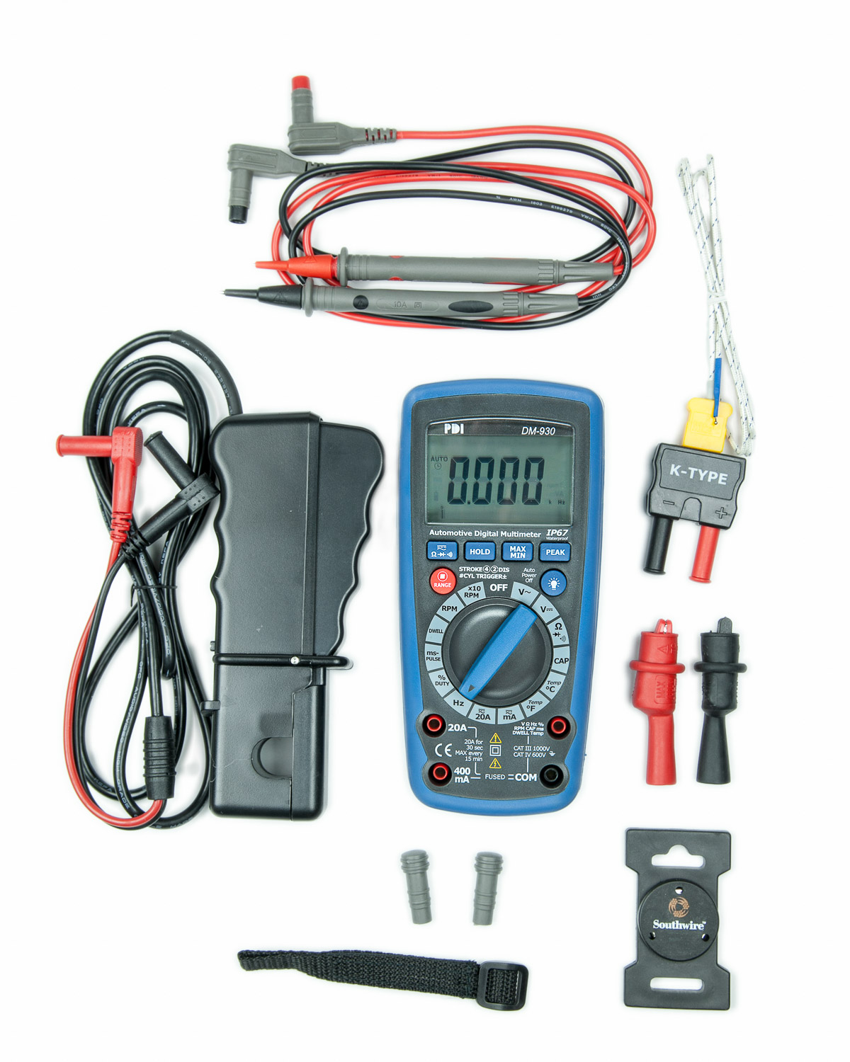 Dm 930 Automotive Digital Multimeter By Lisle Continuity Tester Computer Safe Circuit Ul Certificate Of Compliance