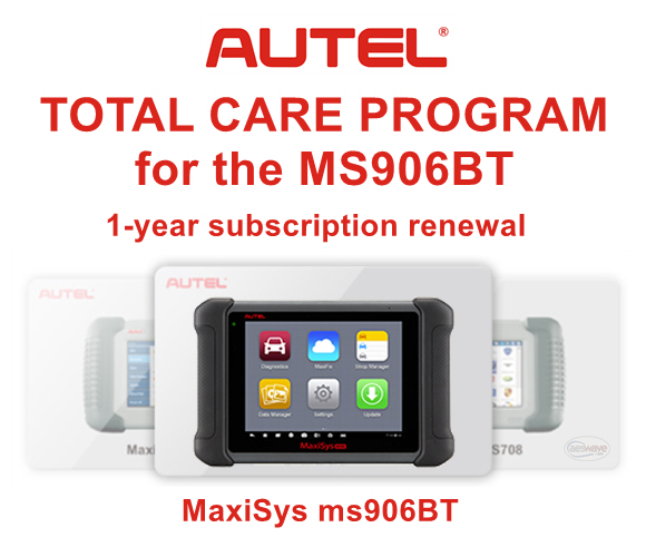 Autel MaxiSys ms906BT update Total Care Package (Autel TCP)