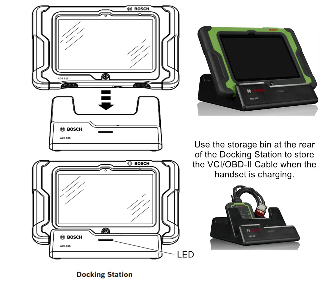 Bosch ADS 625 Scan Tool with 12-month subscription