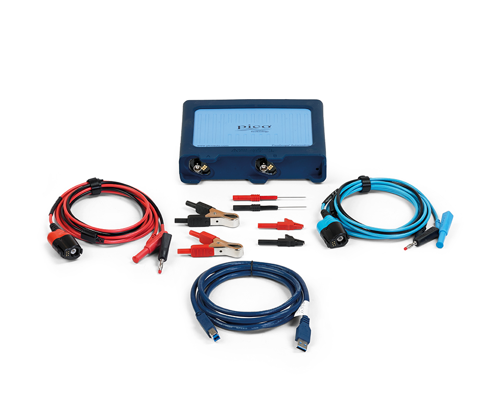 Contents of the Pico PQ175 STARTER Diagnostic Kit