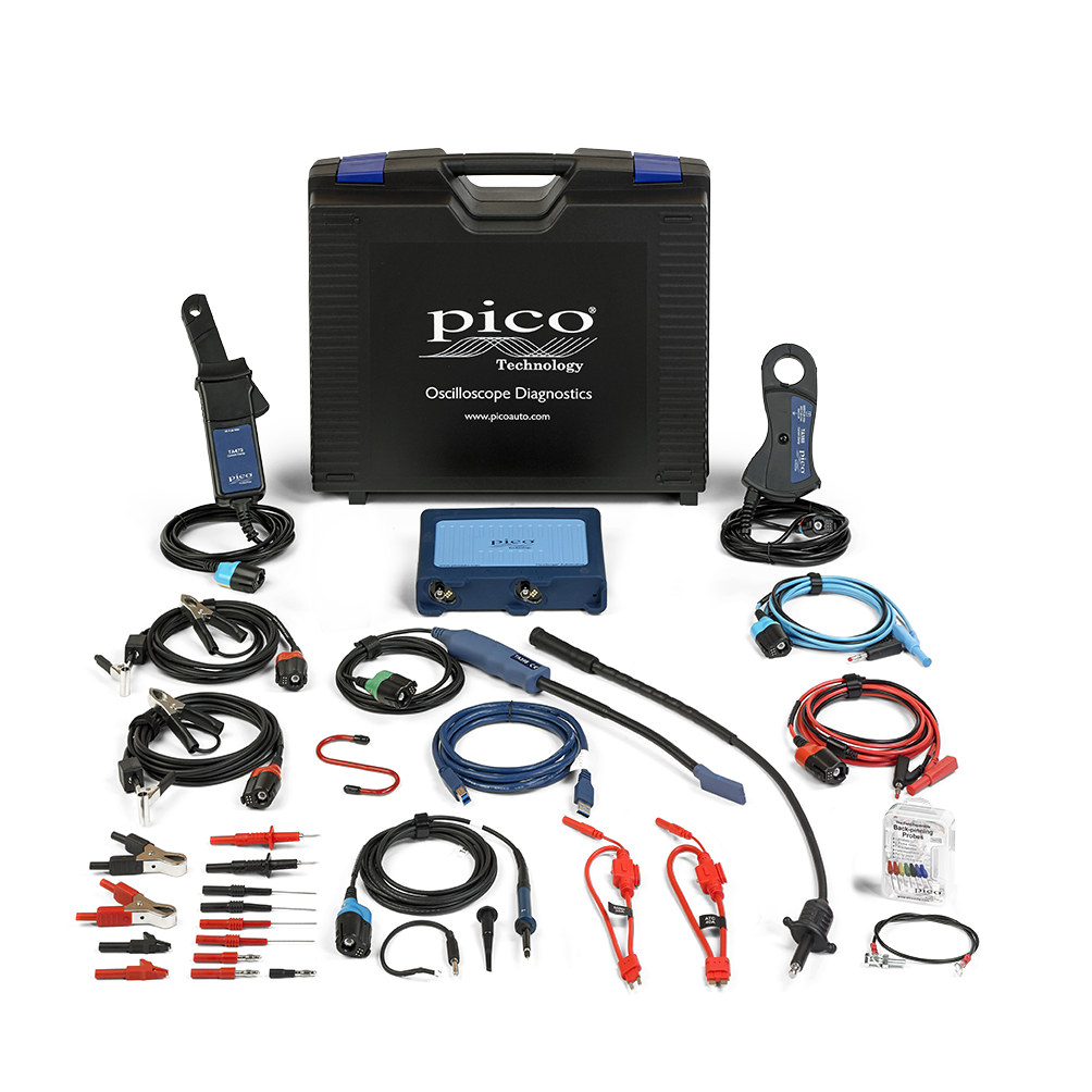 Contents of the Pico PQ177STARTER Diagnostic Kit
