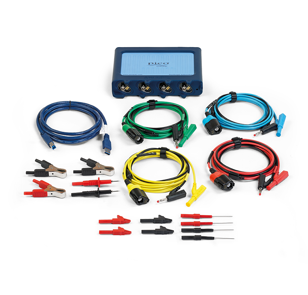 Contents of the Pico PQ176 STARTER Diagnostic Kit