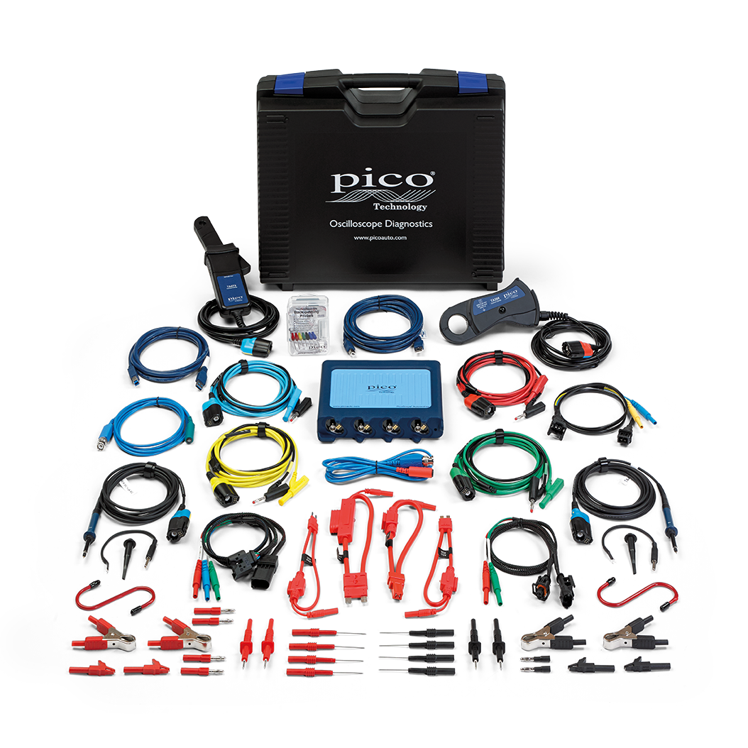 Contents of the Pico PQ179 DIESEL Diagnostic Kit
