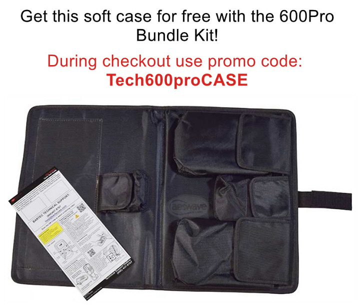 Free Soft Case with Purchase of the Bartec 600Pro Bundle Kit from AESwave.com