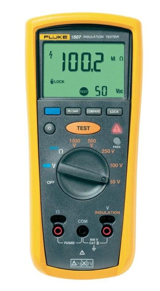 Fluke Insulation Resistance Tester : Fluke insulation resistance tester