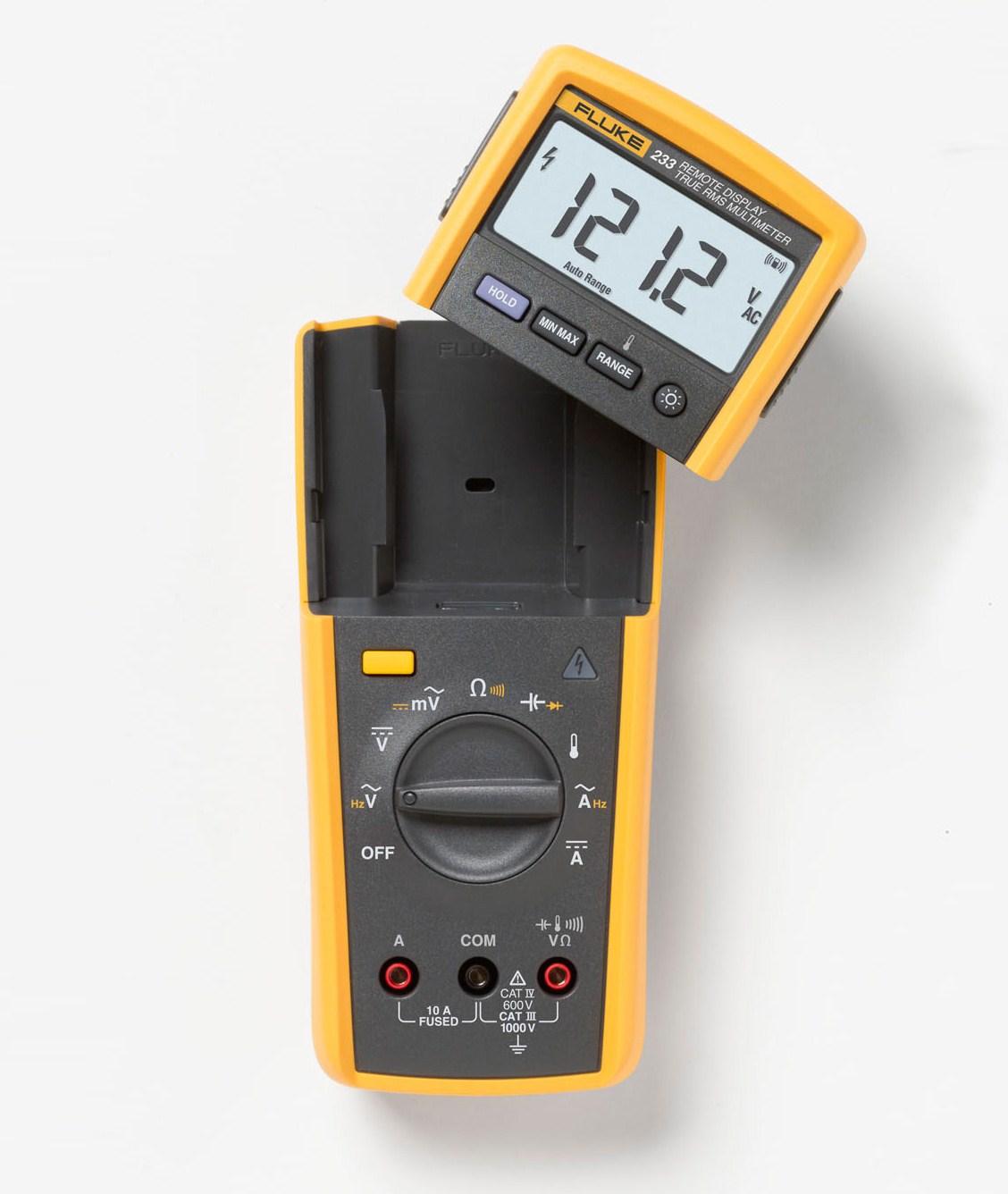 Automotive Digital Multimeter : Fluke a remote display automotive digital
