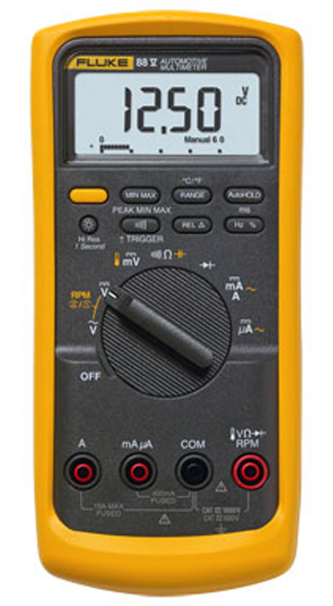 fluke 88v 88v deluxe automotive multimeter