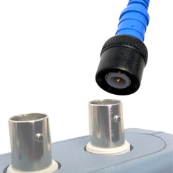 The PicoScopes use an insulated BNC