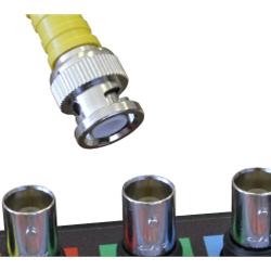 ATS scopes use a metal BNC