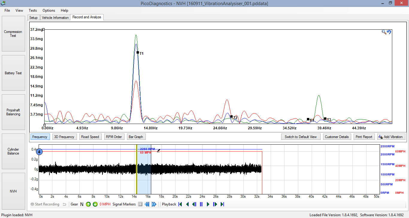 NVH Diagnostics Case Study with Pico NVH