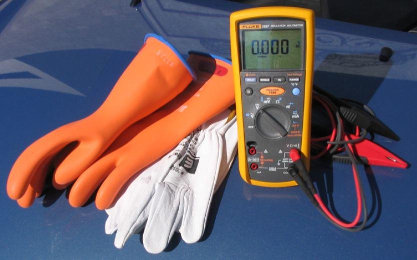 High Voltage Safety Training : Hybrid safety basics