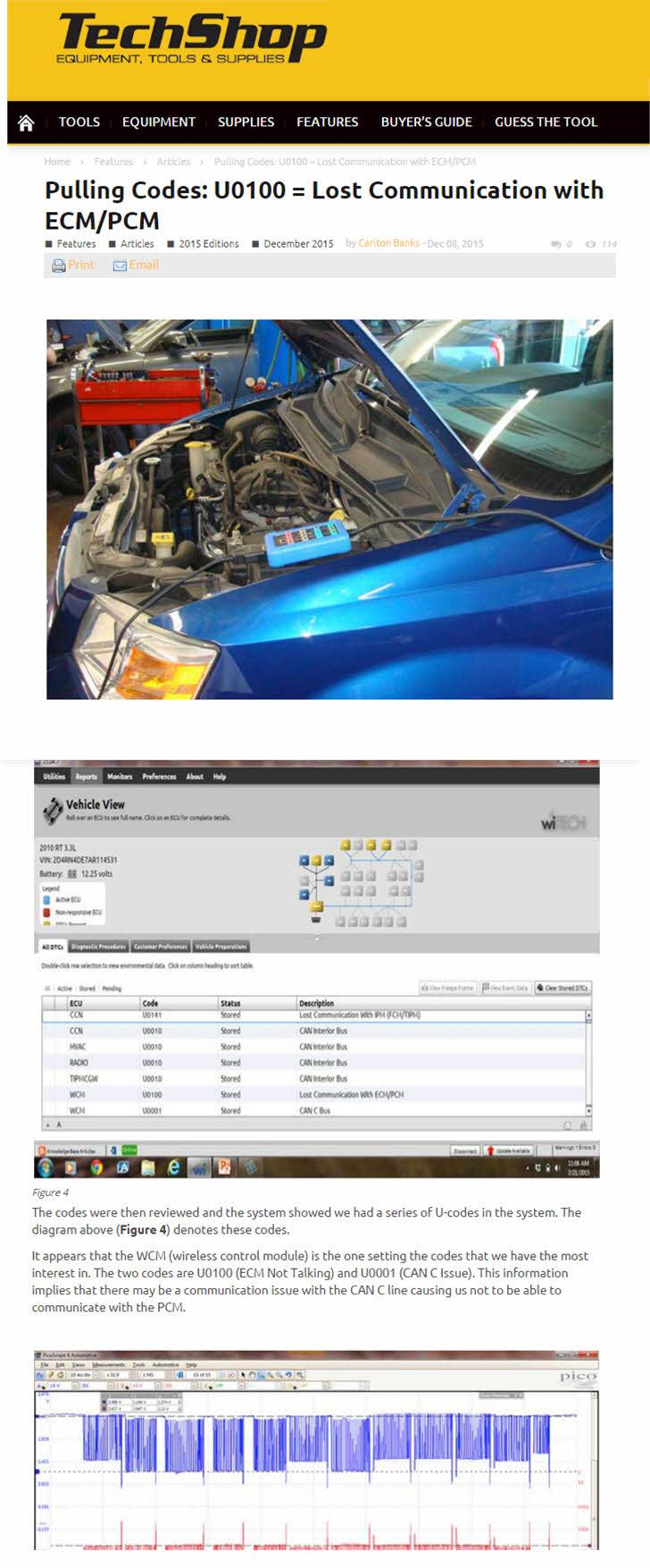 U0100 diagnostics